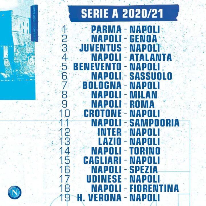 Ecco Dove Seguire Le Partite Del Napoli Fino Alla Giornata Numero 16 Del Campionato Parola Del Tifoso Di Giovanni Pisano